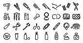 Beauty Cosmetics Icon (Hand draw version)