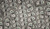 Dollar money banknotes pack