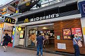 McDonald's Restaurant in Hong Kong