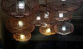 Close up light bulb, lamp isolated photo