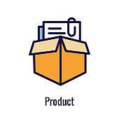 Agile Scrum Process, development icon