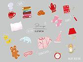 Sleep illustrations . Pajamas, Tea Time, Coffee, Diary, Teddy Bear, Cute, Fashion, Night Routine, Pajamas, interiors, lights , book