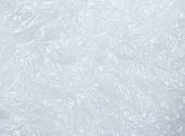 White plastic bag texture, macro, abstrackt background