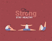 stay strong banner