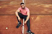 테니스 인물컷
