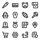 Pack of Instruments Solid Icons