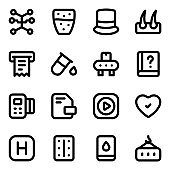 Pack of Trade and Business Solid Icons
