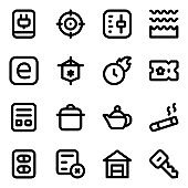 Selection of Solid Icons in Editable Designs