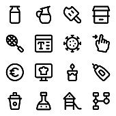 Set of Random Glyph Icons