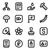 Trendy Collection of Solid Icons