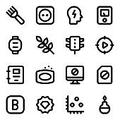 Diverse Collection of Solid Icons