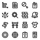 Pack of Culture and Ethnicity Solid Icons
