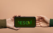 ESG, Ecology Care Concept. Environmental, Social and Corporate Governance. Green Energy, Renewable and Sustainable Resources