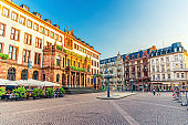 Wiesbaden City Palace Stadtschloss or New Town Hall Rathaus neo-classical style building