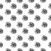 Vector hand drawn collection of grunge textures, unique patterns background