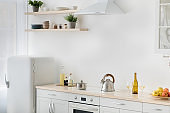 Rent flat, real estate, ready for cooking, domestic culinary, home healthy eat