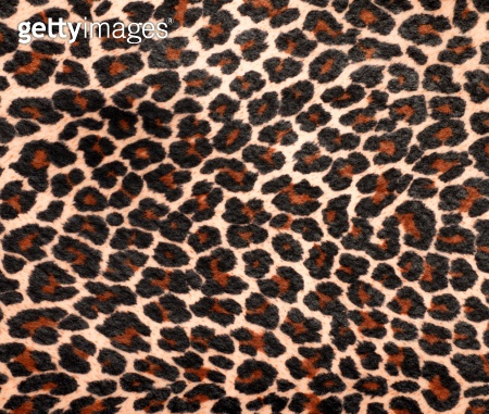 Leopard Skin, Faux Fur Rug