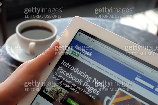 Facebook Pages on iPad 3