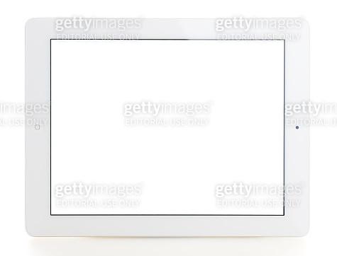 Blank white screen iPad 3