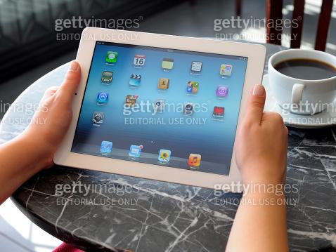 Using iPad 3