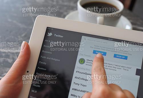 Twitter on iPad 3