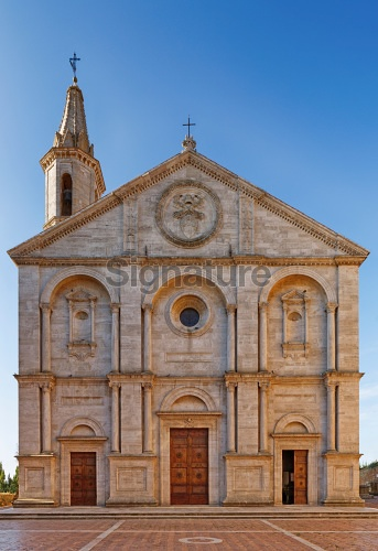 Cathedral of Pienza, Tuscany