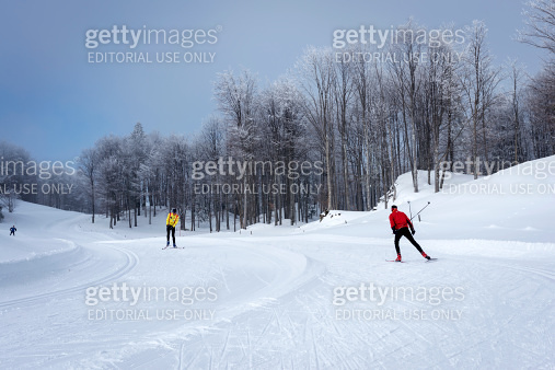 Cross-Country Skiing in Vojsko Slovenia Europe