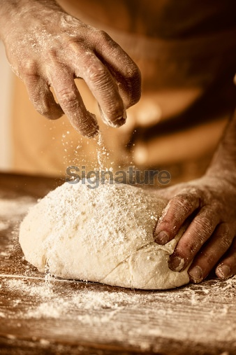 prepare yeast dough