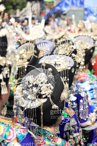 Silver accessories of Miao nationality
