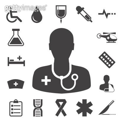 Medical icons set,