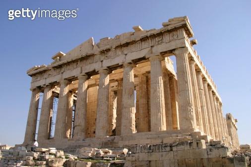 The Parthenon, Acropolis in Athens Greece.