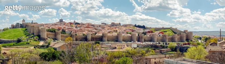 medieval fortress of Avila