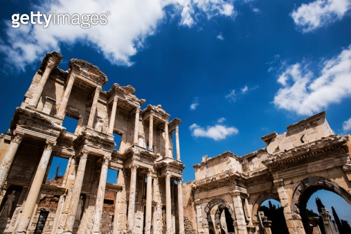 Celsus Library in Ephesus museum, Turkey