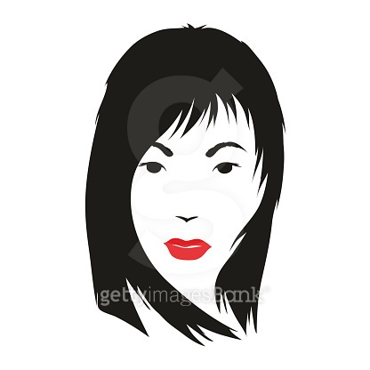 Fashion silhouette woman style, vector illustration