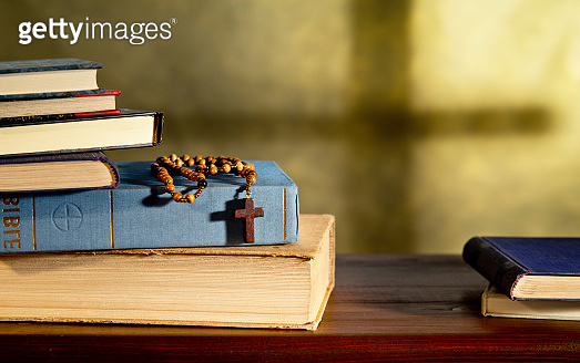 Books And Rosary