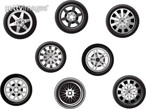 Car tyres set
