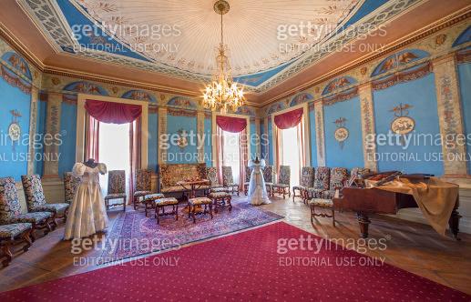 Music saloon in palace Saint Anton