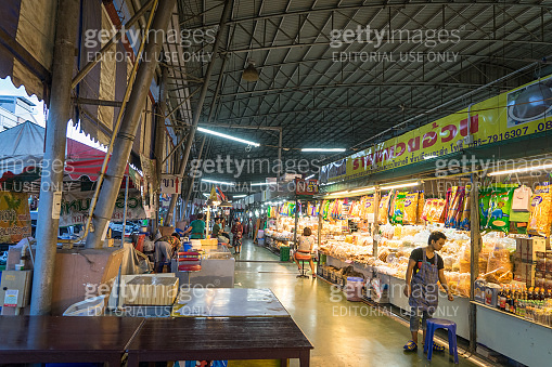 Dried Seafood Market Vendor