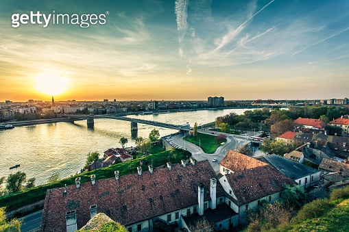 Cityscape from of Novi Sad