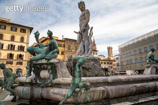 Italy - Florence, Piazza della Signoria