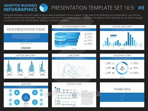 Presentation template set 8