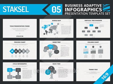 Presentation template set 4