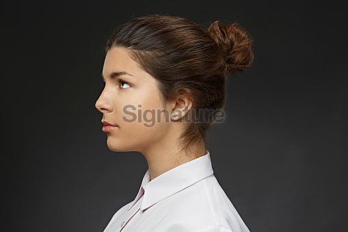 Natural Beauty Portrait   Young  Woman   Businesswoman