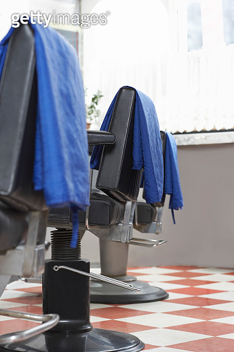 Capes On Barbers Chairs