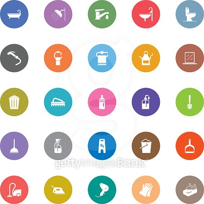 Colorful Vector Icons - 25 Icons