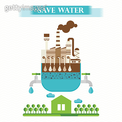 eco concept save water