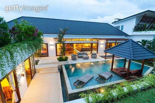 Modern tropical villa