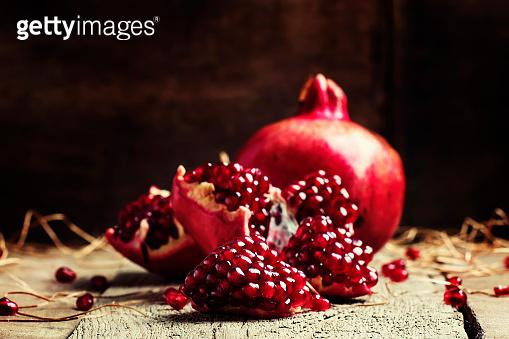 Fresh azerbaijan pomegranate