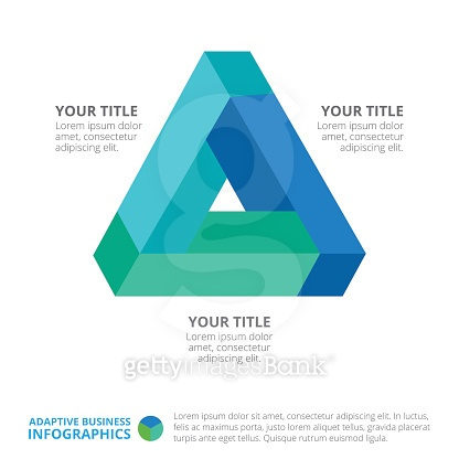Triangle Diagram Template