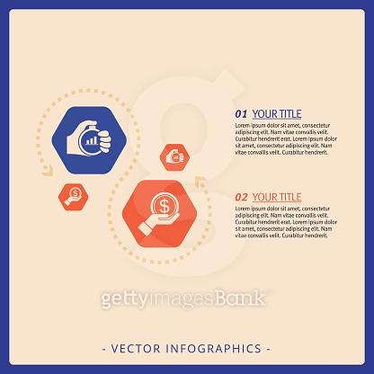 Hexagon diagram template